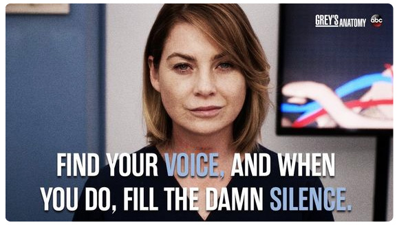 Fill the Damn Silence – Speak Up!